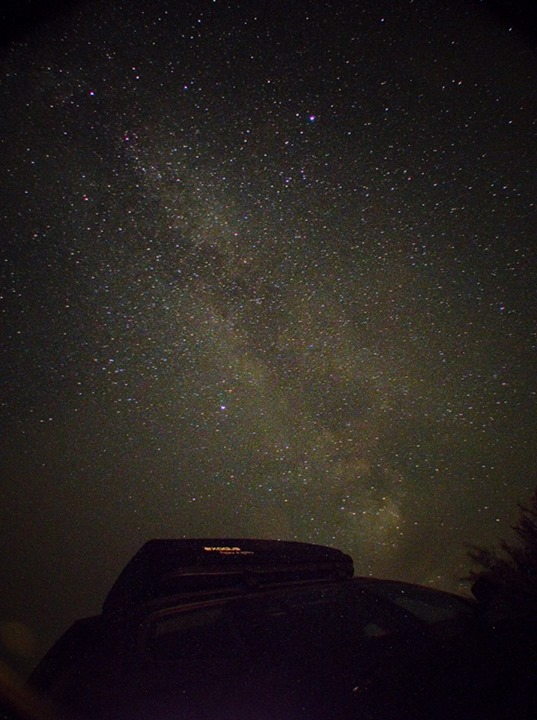 Image taken by a camper in 2013